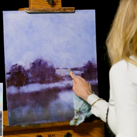 "New DVD ""Luminous Landscape Painting in Water Mixable Oils"" with Lori McNee"