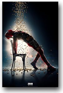 Deadpool 2 Poster – Movie Promo 11 x 17 Flashdance with two Bullets